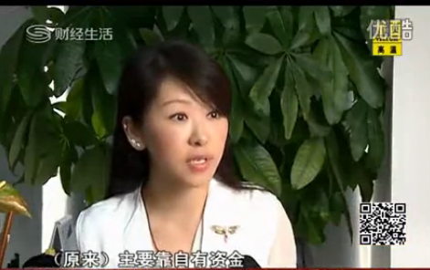 方迪科技副总裁韩妮女士于中国股市报道中接受环球财经记者的采访