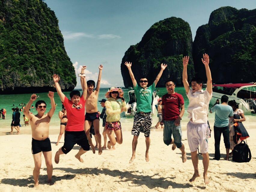 浪漫普吉,甜蜜旅程——方迪科技2014年度优秀员工普吉岛之旅